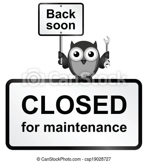 Closed Site - csp19028727