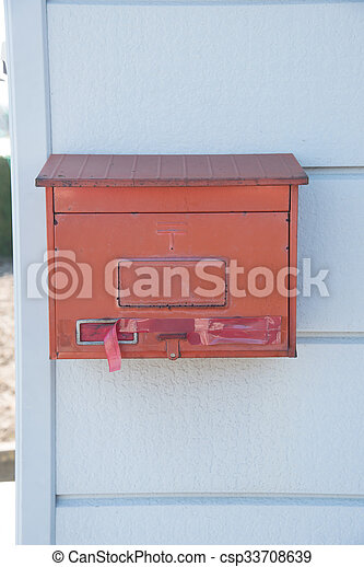 Closed Mailbox Throughout Closed Up The Red Mailbox In Japan Csp33708639 Closed Japan