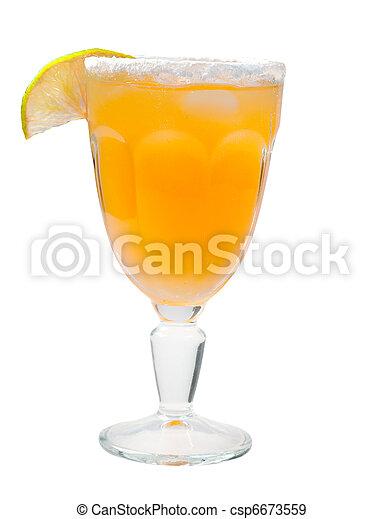 closeup, cocktail, citrus - csp6673559