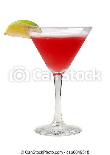 closeup, cocktail - csp6849518