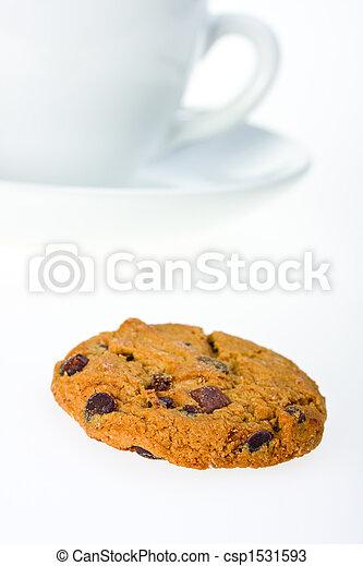 closeup of a cookie - csp1531593