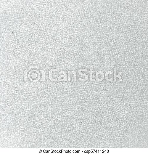 Closeup Of Seamless White Leather Texture Background With Beige Stock Photo