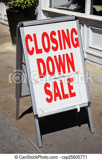 furniture sale sign. Closing Down Sale Sign - Csp25605771 Furniture
