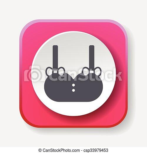 clothes icon - csp33979453