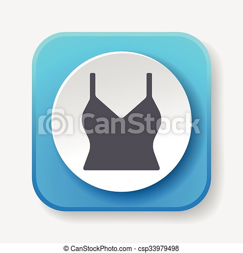 clothes icon - csp33979498