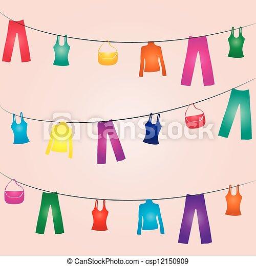 Clothes line - csp12150909