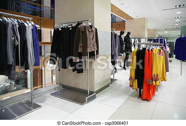 clothing department - csp3066401