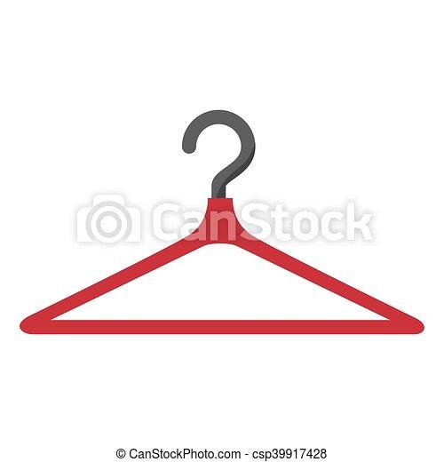 Clothing Hanger Hook Coat Rack Tool Vector Illustration Interesting Coat Rack Clipart