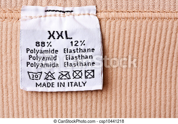 Clothing label - csp10441218