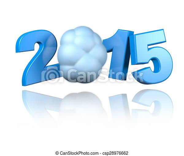 Cloud 2015 design - csp28976662