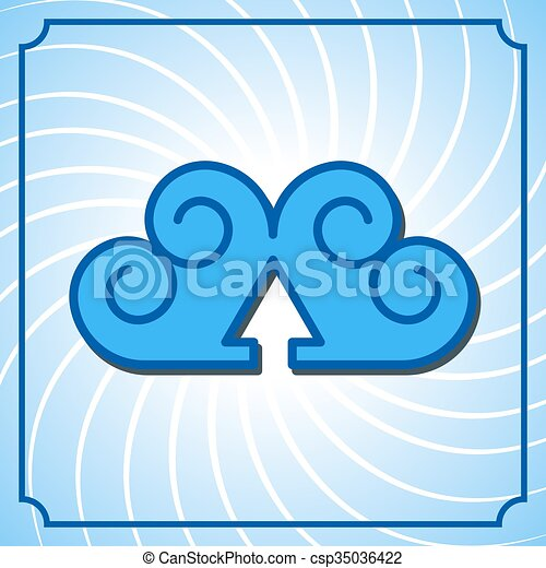 Cloud background - csp35036422