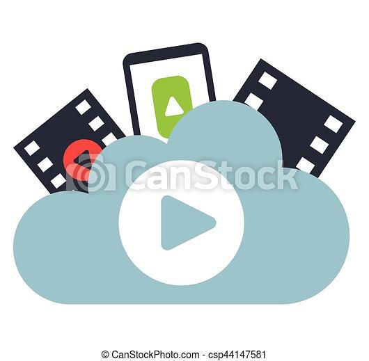 Cloud Computing and Entertainment - csp44147581