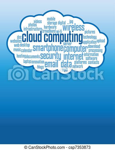 cloud computing - csp7353873