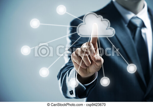 Cloud computing  - csp9423670