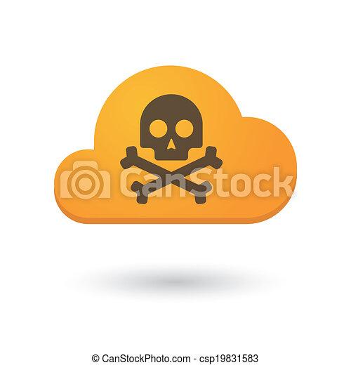 Cloud icon - csp19831583