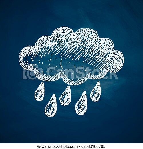 cloud icon - csp38180785