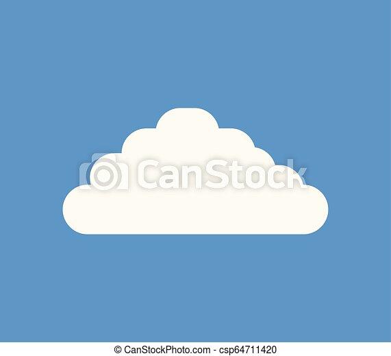 cloud icon - csp64711420