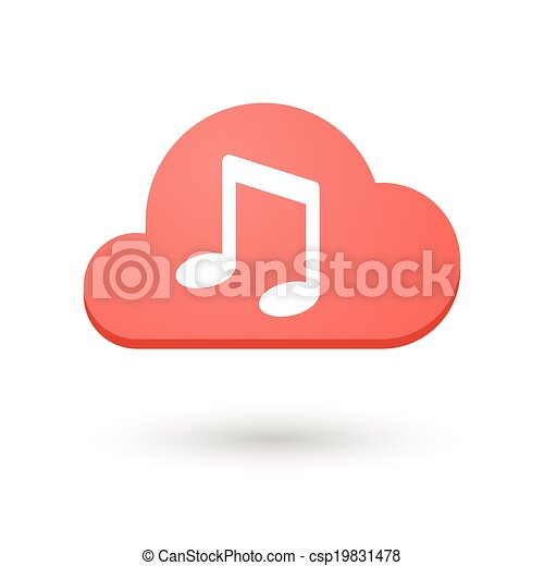 Cloud icon - csp19831478