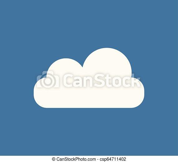 cloud icon - csp64711402