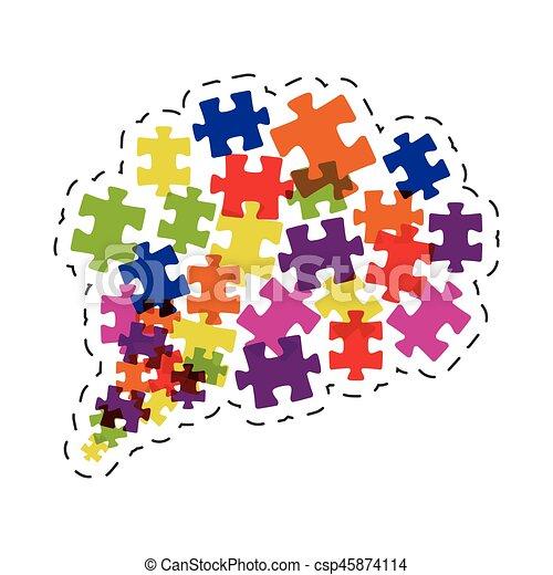 cloud puzzle solution image - csp45874114