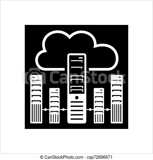 Cloud Server Icon - csp72696671