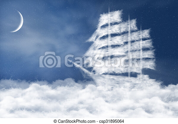 Cloud ship - csp31895064