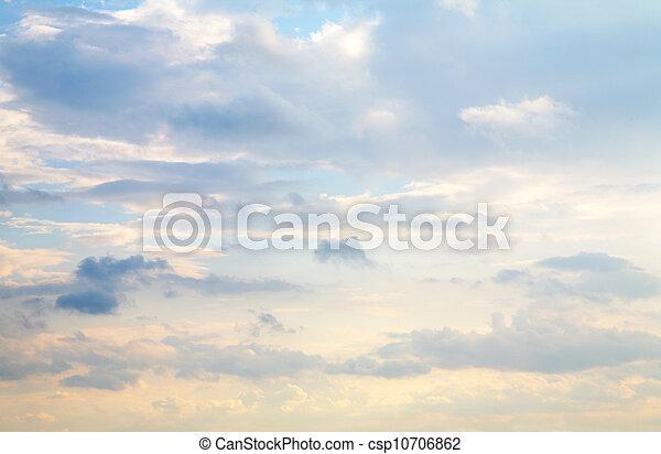cloud sky - csp10706862
