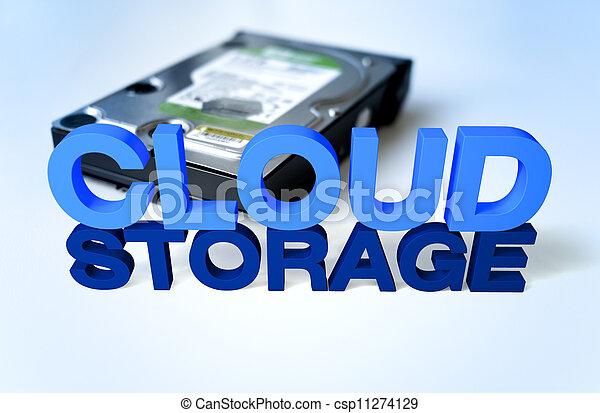 Cloud Storage - csp11274129