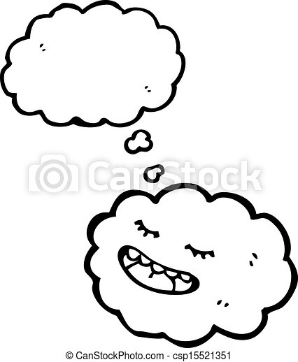 Cloud With Thought Bubble