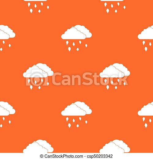 Clouds and hail pattern seamless - csp50203342