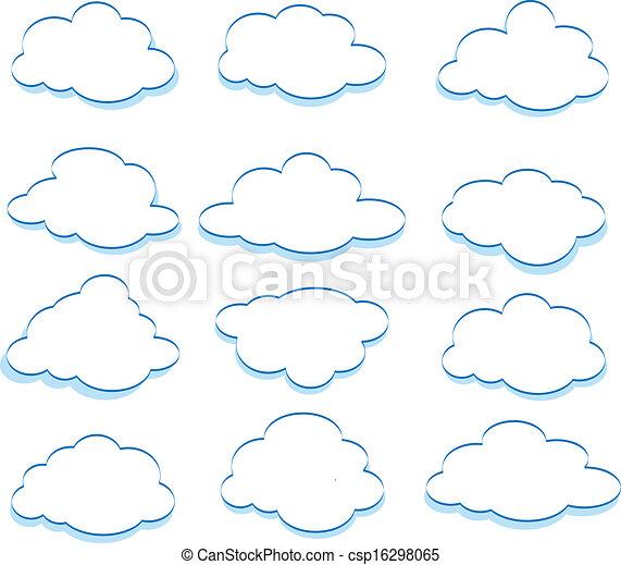 Clouds - csp16298065