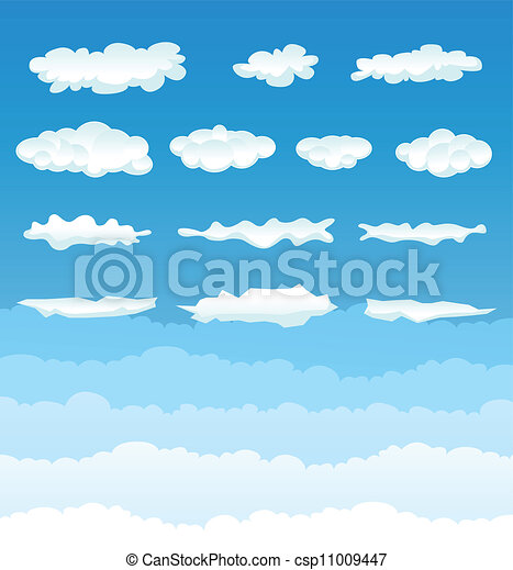Clouds Collection - csp11009447