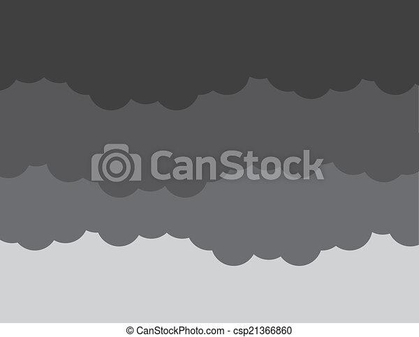 Clouds Dark Storm - csp21366860