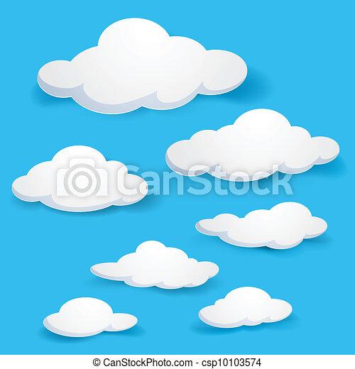 Clouds - csp10103574