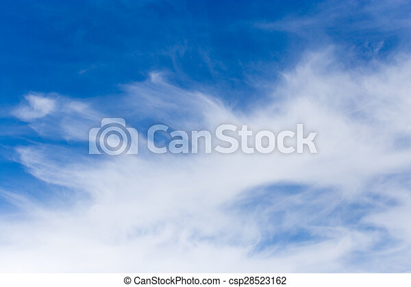 clouds in the blue sky - csp28523162