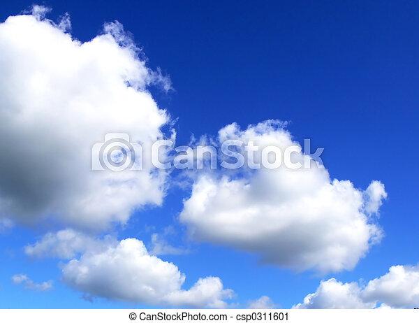 Clouds in the sky - csp0311601