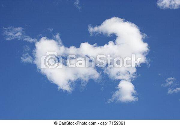 Clouds in the sky - csp17159361