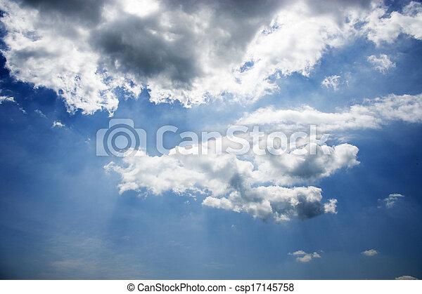 Clouds in the sky - csp17145758