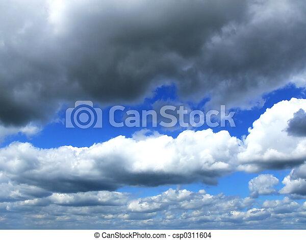 Clouds in the sky - csp0311604