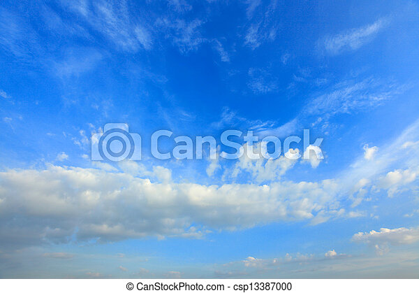 Clouds on blue sky3 - csp13387000