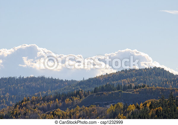 Clouds over Mountains  - csp1232999