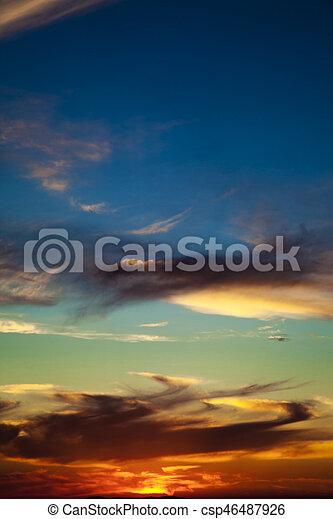 Clouds - csp46487926
