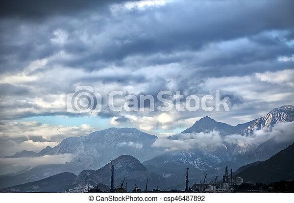 Clouds - csp46487892