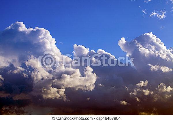Clouds - csp46487904