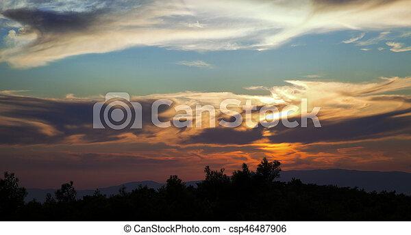 Clouds - csp46487906