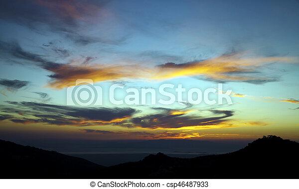 Clouds - csp46487933