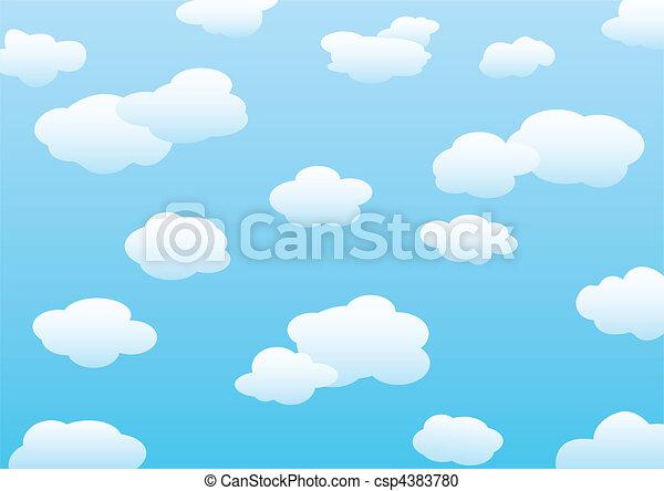 Clouds  - csp4383780