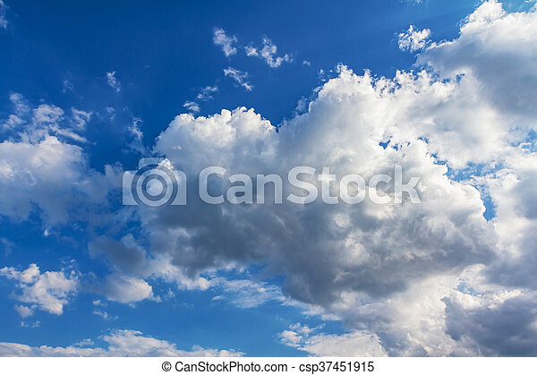Clouds with blue sky - csp37451915
