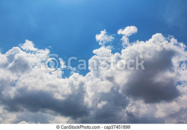 Clouds with blue sky - csp37451899