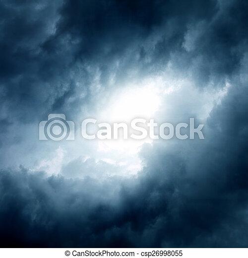 Cloudscape Background - csp26998055